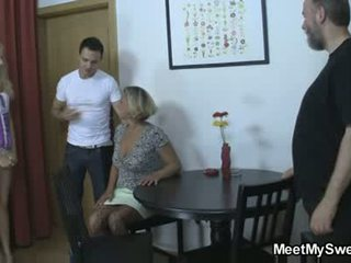 group sex, dad, foursome