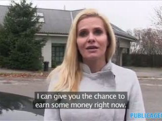 Publicagent Desperate Milf Fucks for a Job