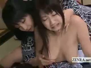 grupu sekss, divdzimumu, lesbiete
