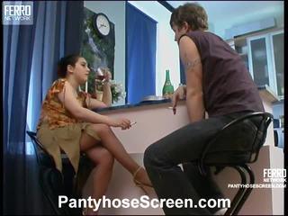 Rachel un jerry videotaped laikā the laiks šī pantyhosing