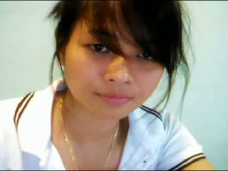 Azjatyckie nastolatka na kamerka internetowa