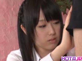 Machiko Ono Gets Cum After Fine Blowjob