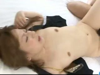 Creampie to end Asian milf Yukina...