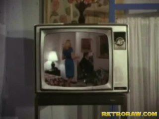 Retro televize show trio
