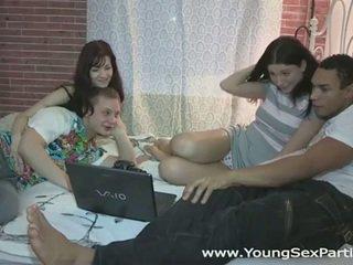 Russa adolescentes quente sexo festa