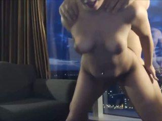 Akrobatik kız oğlanı sikiyor sikme