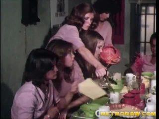 retro, lesbica, porn vintage