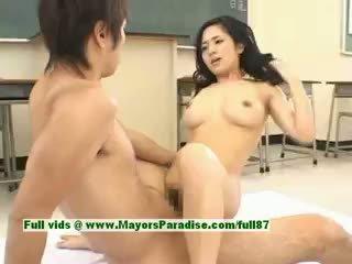 Sora aoi гаряча дівчина сексуальна японська студент gets a жорсткий трахання