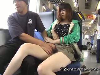 Japanisch öffentlich asiatisch sex im die zug