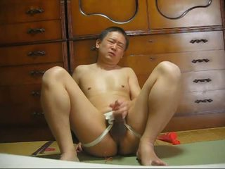 Japanese gay masturbation