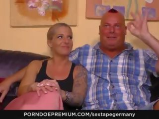 Sextape Germany - German Blonde gets to Suck Big Dick