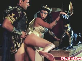 Ēģiptieši skaistule nepieredzējošas un jāšanās grūti