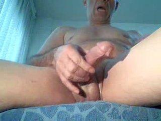 Spycam masturbates toekijken porno, extrem orgasme!