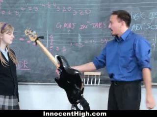 InnocentHigh- Cute Redhead fucks her teacher <span class=duration>- 12 min</span>