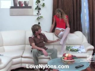Susanna en rolf vehement panty video- actie