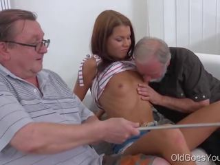 young, cumshots, old