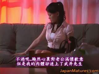 Miki sato schattig echt aziatisch rijpere model part2