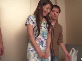 Nana nakamura acts nerātnas un jūtīgas uz tops trio: porno e8