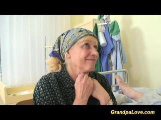 Grandpa babe fucking the nurse