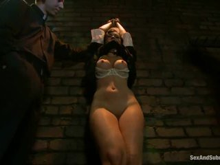 Corporal punishment para sinful freira angell summers