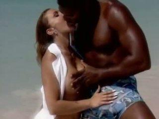 Romantic fick auf die beache