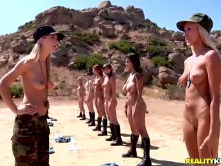 Breanne benson és neki 10 gfs -ban leszbikusok hadsereg