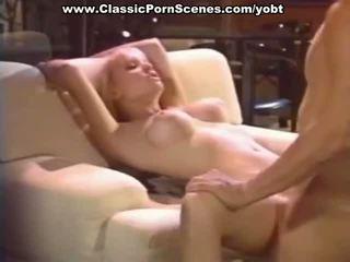 Sexy blondine is geil