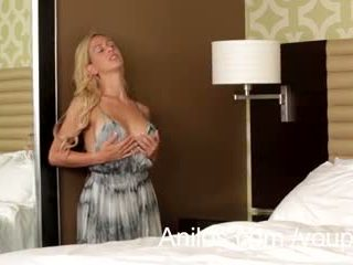 Hot blonde milf Cherie Deville cums so good