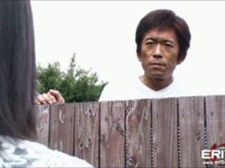 Obrovský prsia japonské dievča ďalšie dvere hanna tied a sýkorka fucked