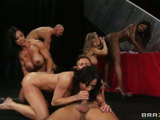 Big Tit Sluts Wild Group Fuck